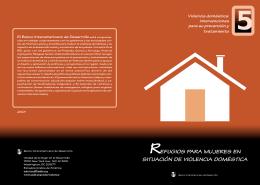refugios para mujeres en situación de violencia doméstica
