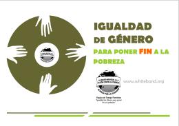 Afiche y folleto español