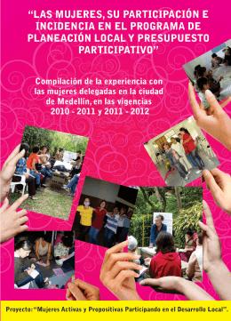 folleto medellin pp 2012 para pdf - Mujeres que