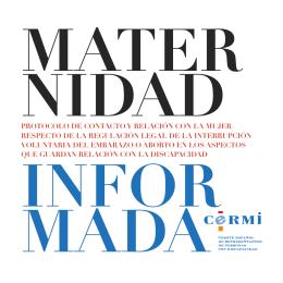 folleto Maternidad informada en formato pdf