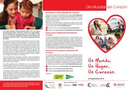 Día Mundial del Corazón 2012 - Fundación Española del Corazón