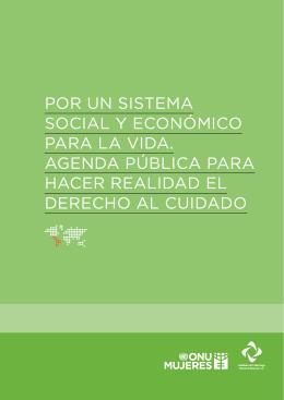 por un sistema social y económico para la vida. agenda pública