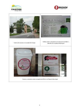 5 Camino de acceso a la ciudad de Crespo Folleto sobre campaña