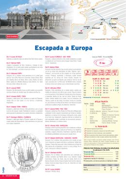 Escapada a Europa