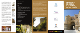 La Muralla de Segovia y la Puerta de San Andrés