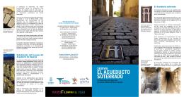 Folleto acueducto soterrado5 - Acueducto de Segovia