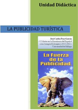 LA PUBLICIDAD TURÍSTICA