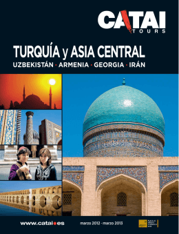Folleto Turquia y Asia Central_2012-2013.qxd