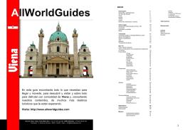Guía de Viena AllWorldGuides