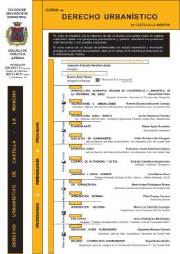 folleto escuela practica - Ilustre Colegio de Abogados de Ciudad Real