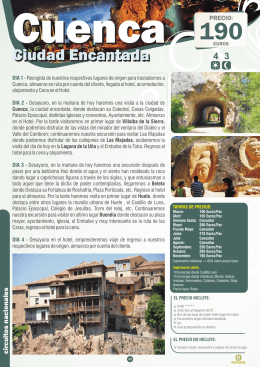 Cuenca - Ciudad Encantada 4D