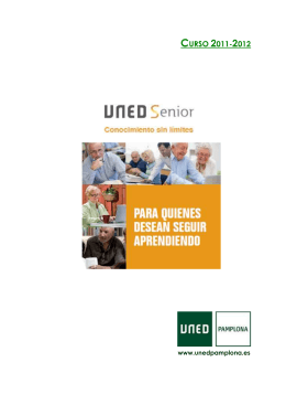 FOLLETO UNED SENIOR 11-12