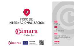 folleto digital 9.indd - Cámara de Comercio e Industria de Ciudad Real