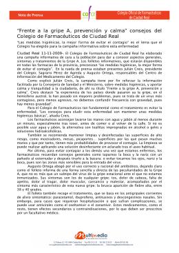 Farmacéuticos 4309 Campaña Gripe A RP post.doc