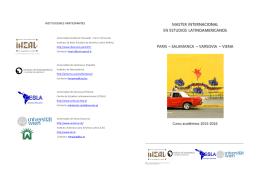 Folleto presentacion del Master Internacional x socios v2