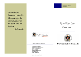 folleto gestion procesos.pub
