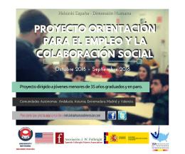 folleto EMPLEO Y LA COLABORACIÓN SOCIAL