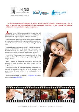 este folleto de ALUNI.net