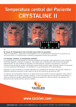 Folleto Crystaline