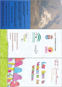 jornadas micologicas folleto - Ayuntamiento de Lucainena de las