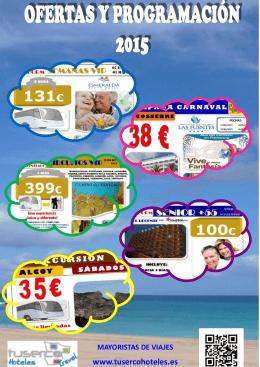 folleto tuserco hoteles 2015