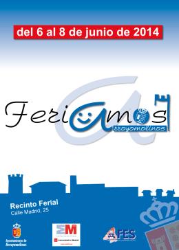 FOLLETO A5 FERIA MUESTRAS 8 PAG