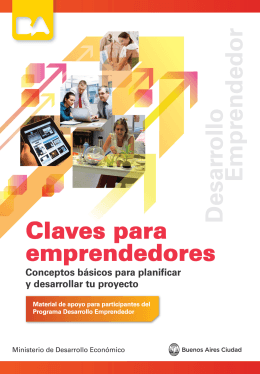 Manual Claves para Emprendedores.