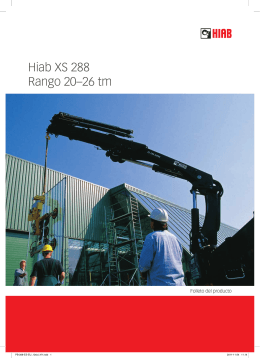Hiab XS 288 Rango 20–26 tm