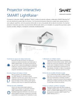 Proyector interactivo SMART LightRaise™