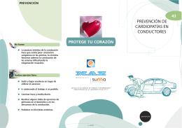 MAZ | Folleto 43 | Prevención de cardiopatías en conductores