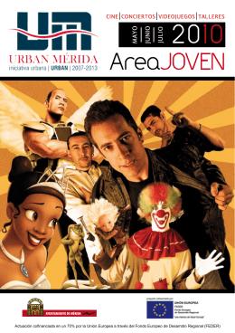 Folleto Actividades Área Joven - Plan Urban Mérida 2007-2013