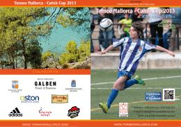 Folleto Torneo Int. Mallorca 2013
