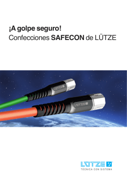 Folleto: Confecciones SAFECON