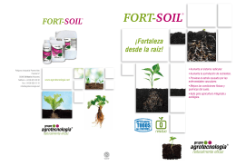 folleto fort-soil españa