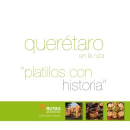 folleto qro - Rutas Gastronómicas