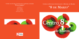 folleto -Centro 8 de marzo-
