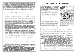 HISTORIA DE UN FANZINE - Página del Foro Social de la Sierra de
