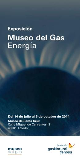 Folleto Museo del Gas Energía