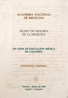 academia nacional de medicina museo de historia de la medicina