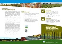 folleto triptico.cdr - Facultad De Ciencias Agrarias Y Forestales
