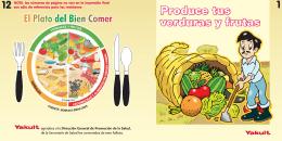 Folleto Produce tus verduras y frutas