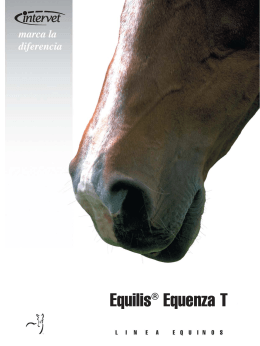Folleto Equilis® Equenza T