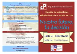 Lista 4—Directorio