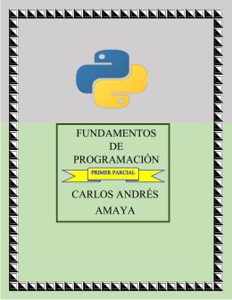 Folleto programación - Blog de ESPOL