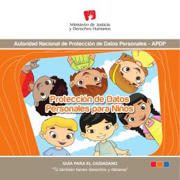 Protección de Datos Personales para Niños