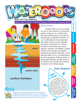 WaterDrops Goundwater Edition (Spanish)