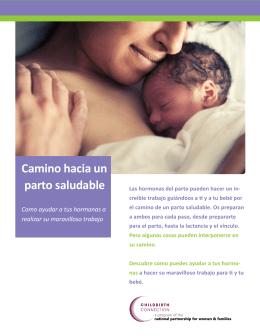 Camino hacia un parto saludable