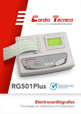 FOLLETO ELECTRO - RG501Plus