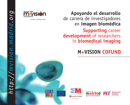 Folleto M+VISION COFUND