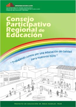 folleto COPARE 05-08-05 - Ministerio de Educación del Perú
